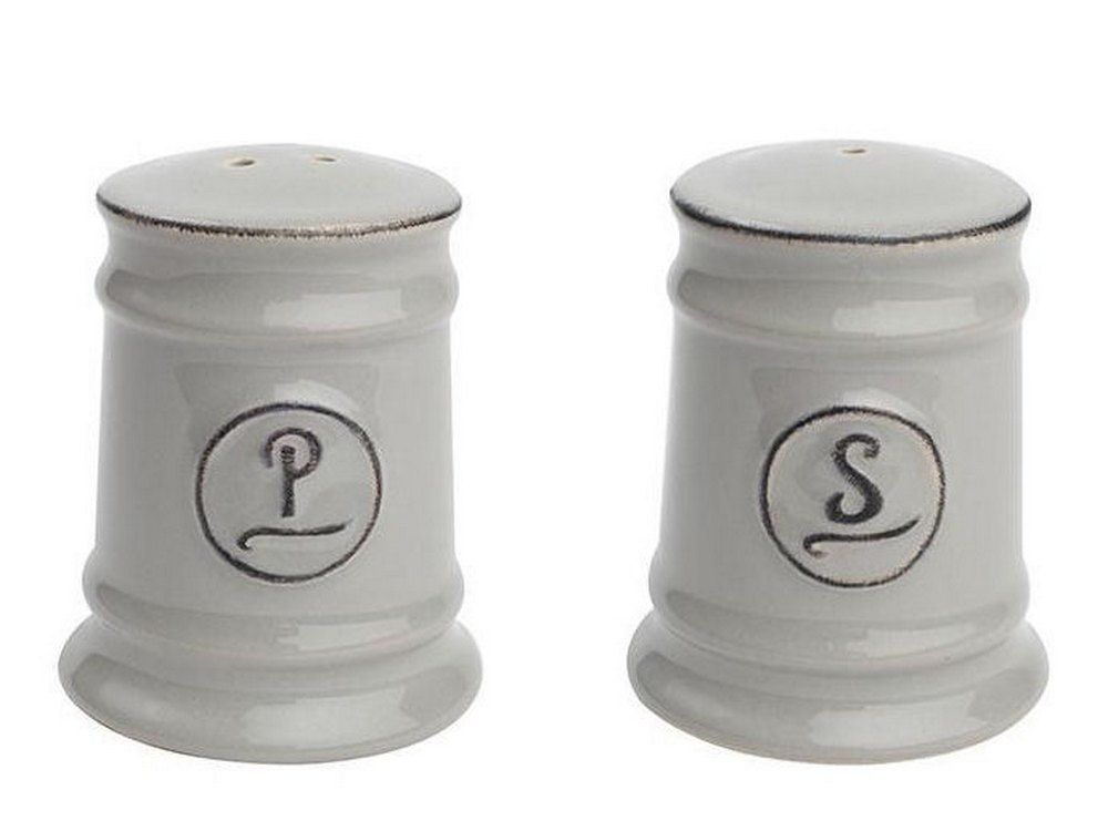 Grey Salt And Pepper Cellars Pride Of Place Salt And