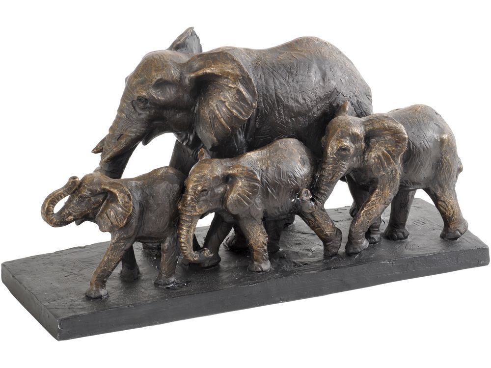 Arturo Bronze Finish Elephants Parade Sculpture