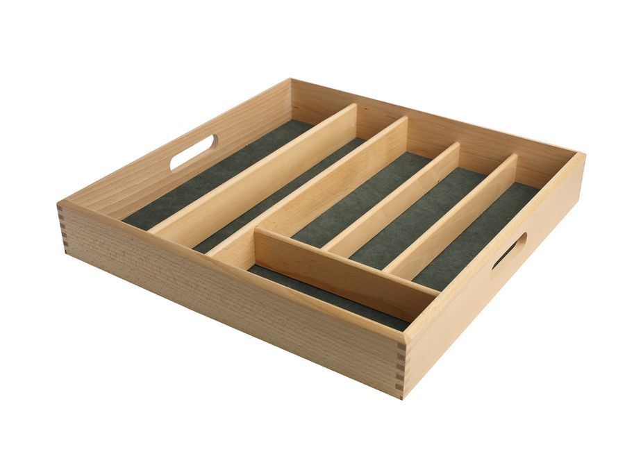 beech drawer cutlery tray cutlery tray drawer: organizer drawer showplace kitchen convenience accessories