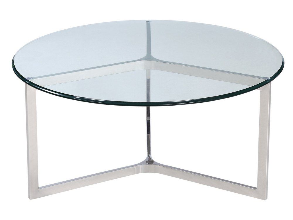 Stainless steel and glass coffee table minimal metal coffee table libra linton steel and Steel and glass coffee table