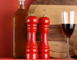 wooden salt 