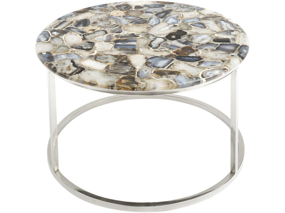 Natural Agate Coffee Table Coffee Table With Polished