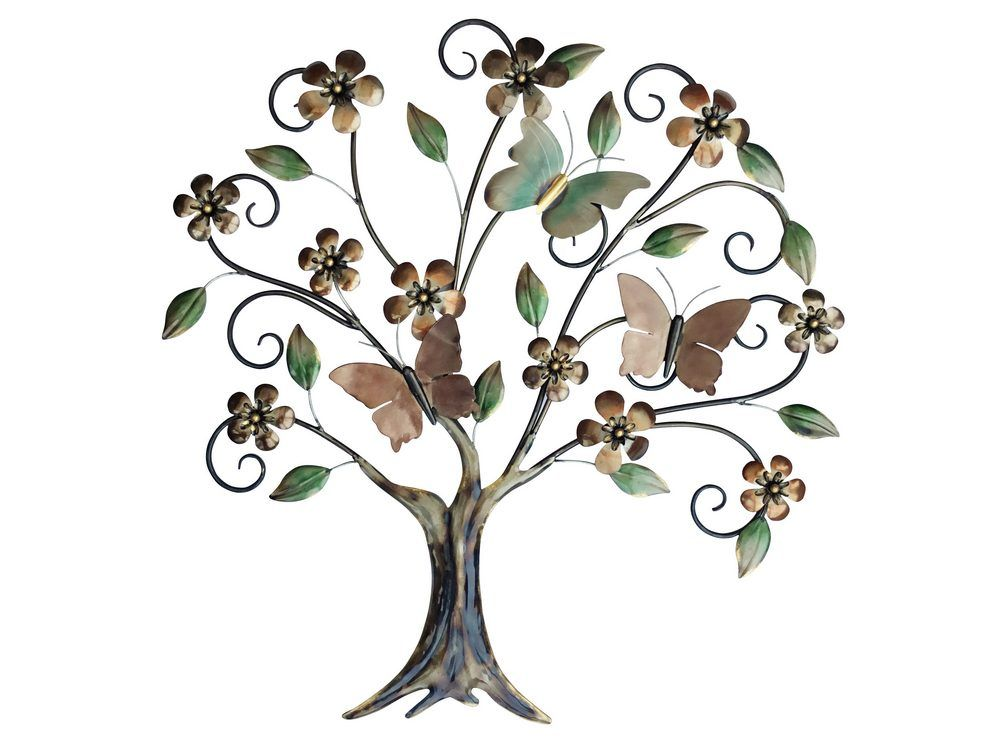 Metal Butterfly Tree Decorative Metal Decoration