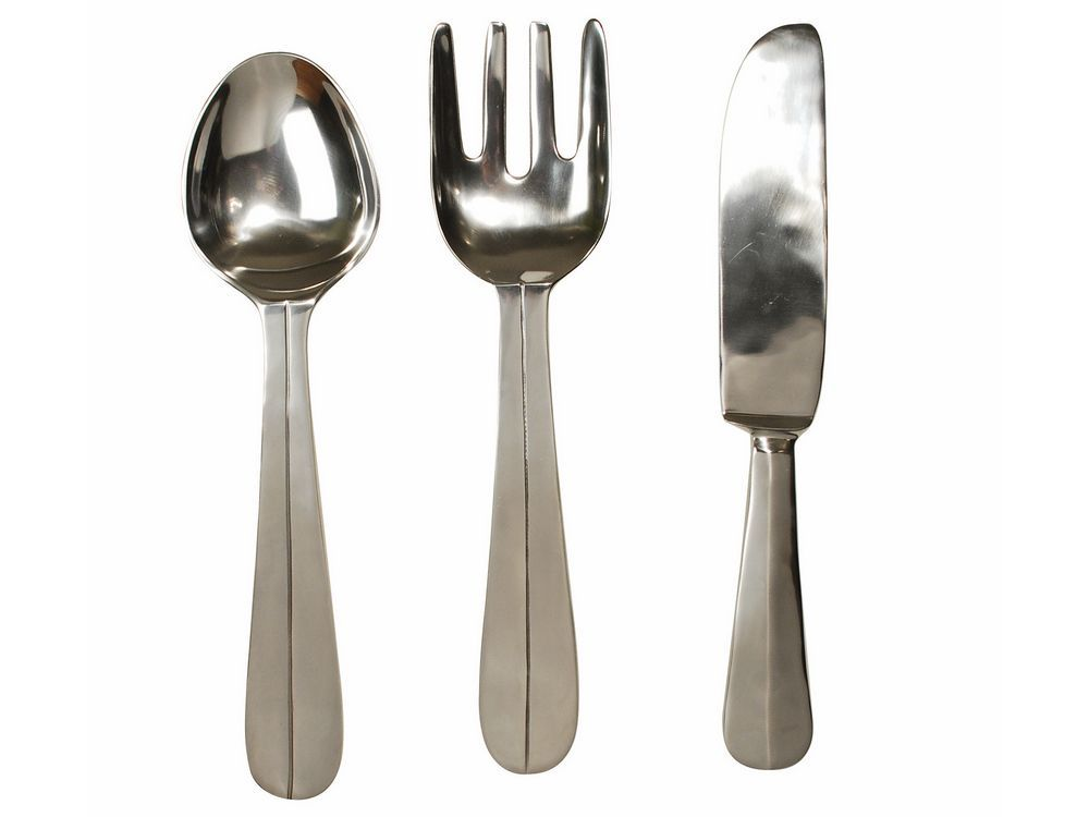 Lovely cutlery wall hangings | knife and fork wall art LJ84