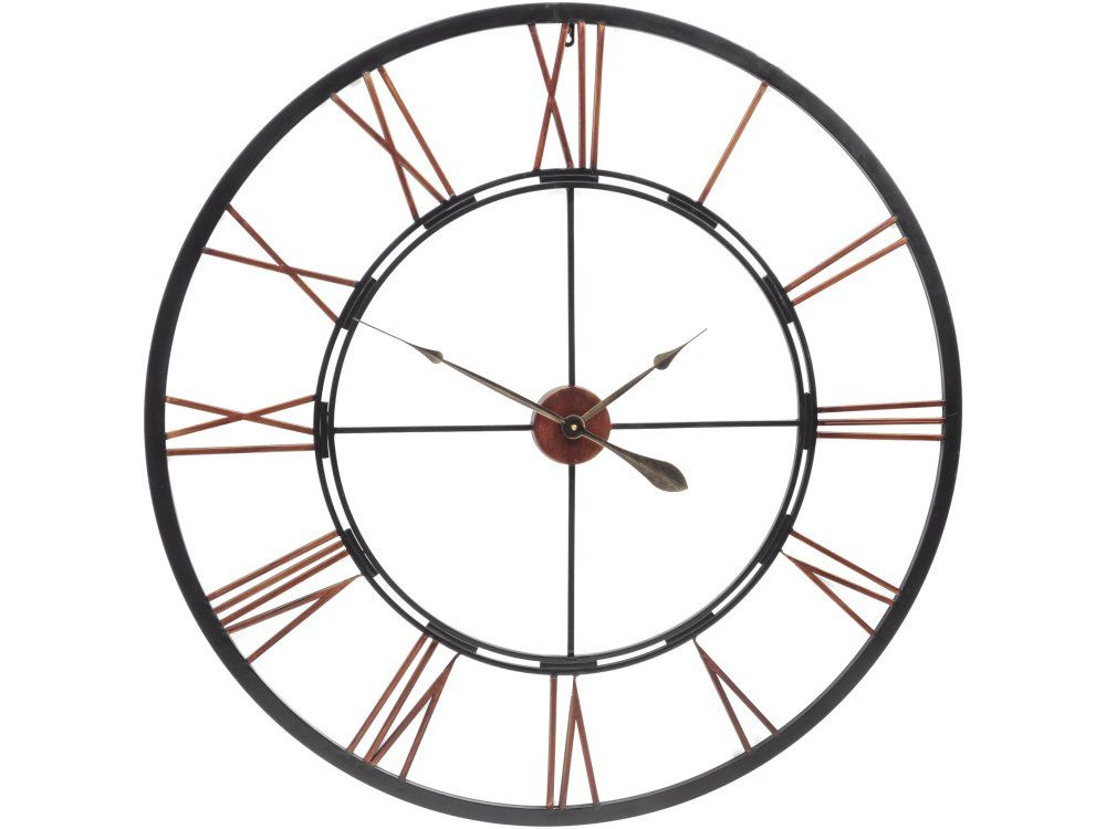 giant skeleton wall clock
